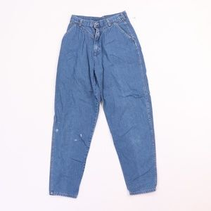 80s Cherokee Womens 10 Tapered Leg High Rise Jeans